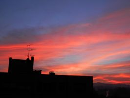 Sunset over the Hills of Bologna 2 by sognatrice94