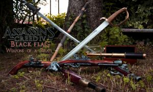 Assassin's Creed IV - Weapons of a Pirate by eyes1138