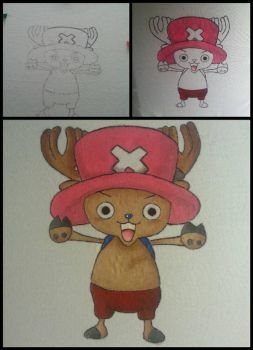 Chopper DIY T-shirt by De-Lau