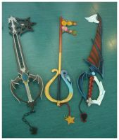 Keyblades by lilie-morhiril