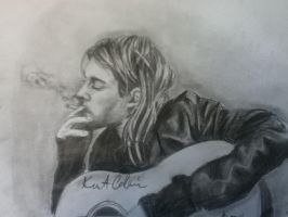 kurt cobain by MysticElfProductions
