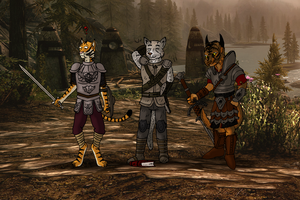 Triple-Khajiit-TF - 5/5 by oldiblogg