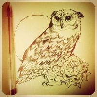 Owl by leopardes