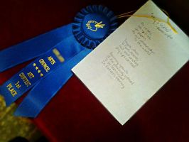 1st Place Poetry by LMW-Creations