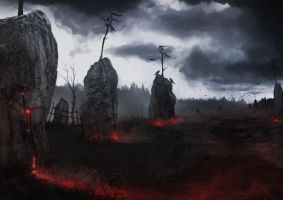 Concept Bloodstone field by Gycinn