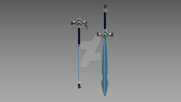 RWBY OC Weapon Request 01 by ShadeofGrimm
