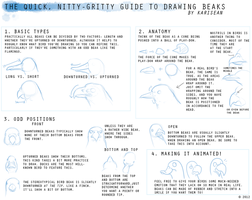 How To Draw BEAKS by Karisean