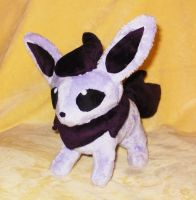 Purple Flareon Commission by StitchyGirl