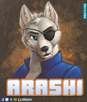 Arashi Badge by zhivagooo