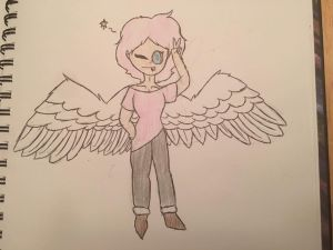 contest entry Aphrodite by AppleSketch-wings