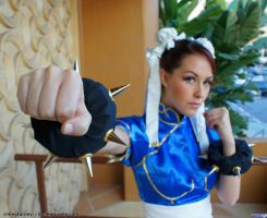 Chun-Li Punch by megturney
