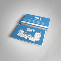 Bag Store Business Card by juliuscaesarrock