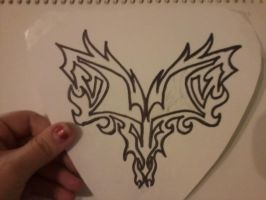 Tattoo idea: Heart -before- by Valix-Lashten87