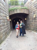 To Hogsmeade! by dragoon811