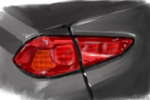 Mitsubishi Lancer 2.0 GTS Rear Lamp by mohdsyukri83