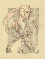 PENCIL COMMISSION:GORM DIABHAL by stalk
