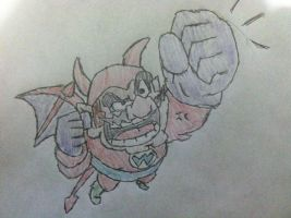 Wicked Wario by Konggers