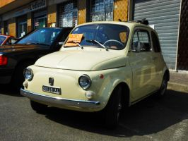 1969 Fiat 500 F by GladiatorRomanus