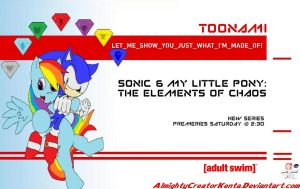 Sonic and MLP: THOC Toonami Wallpaper by CreativeArtist-Kenta