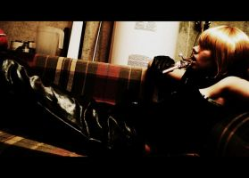 Mello  Lazy Boy by xXxDarkRoxasxXx