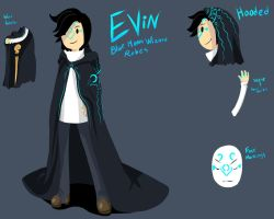 Evin- Blue moon wizard mode by Ask-Evin