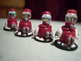 Tom Servo Army by sweet-geek