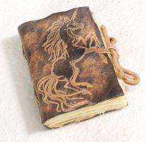 MINI Unicorn Journal by gildbookbinders