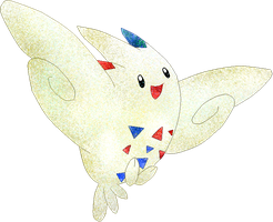 Togekiss -coloured by Sulfura