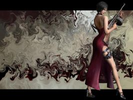 Resident Evil 4 - Ada Wong by marcosdelira
