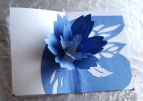 beautiful pop-up card by Elmiko