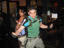 Chris and Sheva re5 team by Chris--Redfield