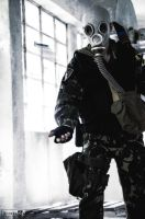 Flying bolt (S.T.A.L.K.E.R. cosplay) by DrJorus