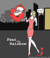 Fear the Rainbow 1 by TheMadHattersMistres