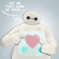 Love - Baymax by Spidertof