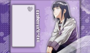 Hinata BackGround by XxKarinUchihaxX