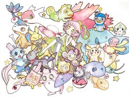 All the Pokemans! by scilk