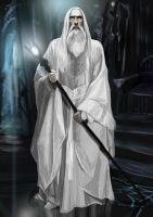 Saruman by Mental-Lighton