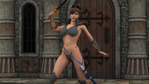 sexy 3D elf a by Seaview123