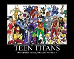 Teen Titans Motivational by SailorVita