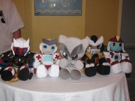 Plush Bot Heaven Botcon 2010 by Scream01