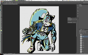 Isus The White Knight Color WIP by Zipper-1