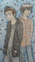SPN - Brothers by Hukkis