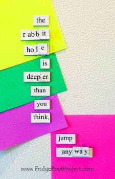 The Daily Magnet #226 by FridgePoetProject