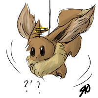 Eevee Angel by NoaQep