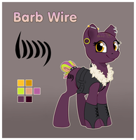 [Ref] Barb Wire by StyxLady
