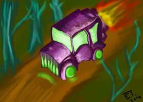The Purple Car by Lillith-The-Frog