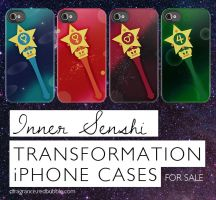 Planet iPhone Power -Inner Senshi- by digitalfragrance