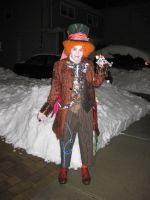 A Hatter In Snow by MadDeppBurtonHatter
