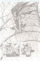 Batman RIP page 1 by gavinsmith