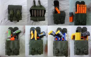 Sweet NERF Multi-Purpose Pouch by MarcWF